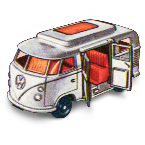 Volkswagen, Camper Icon Free Of Matchbox Cars Icons