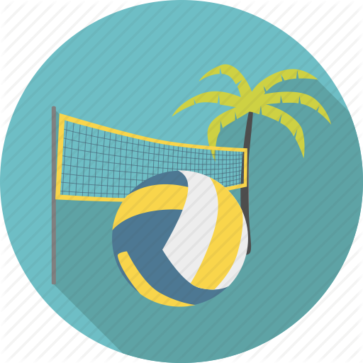Beach, Volleyball, Sports, Transparent Png Image Clipart Free