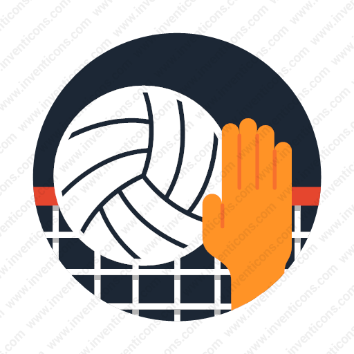 Download Volleyball Icon Inventicons