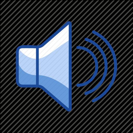 Audio, Loud, Speaker, Volume Icon