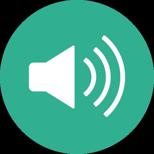 Audio, Circle, Music, Sound, Speaker, Volume Icon