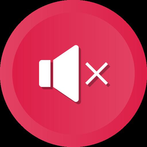 Audio, Music, Mute, Player, Sound, Speaker, Volume Icon