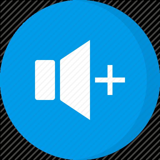 Increase Volume, Multimedia, Sound, Speaker Volume, Volume Level