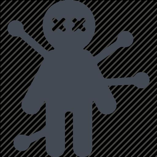 Halloween, Horror, Scary, Voodoo Doll Icon