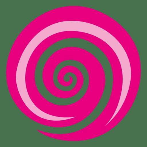 Majenta Vortex Swirl Icon