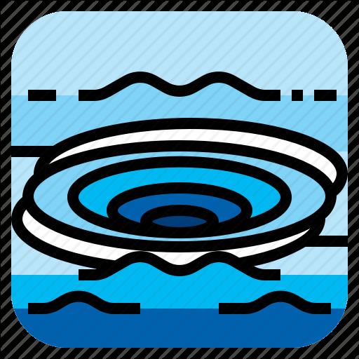 Ocean, Purl, Vortex, Whirlpool Icon