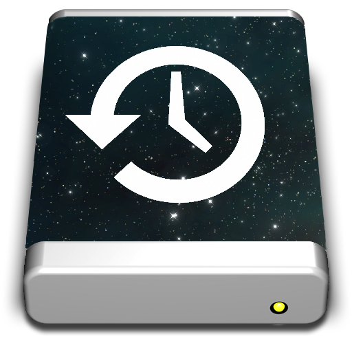Time Machine Vortex Icon