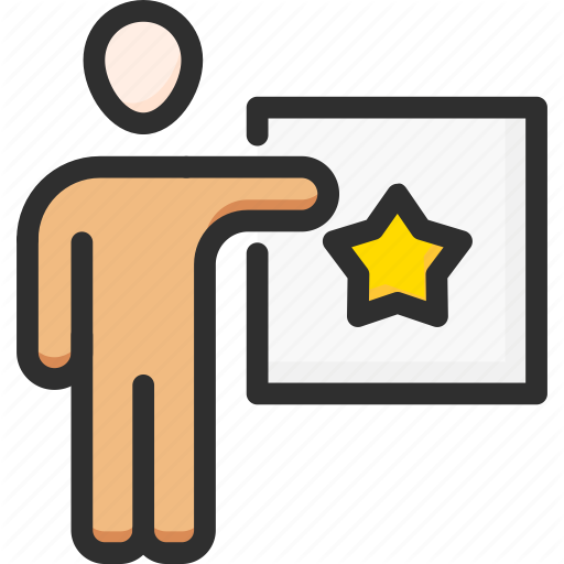 Best, Favourite, Feedback, Man, Rating, Star, Vote Icon