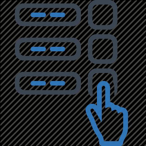 Finger, Poll, Polling, Survey, Vote, Voting Icon