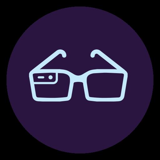 Virtual, Reality, Glasses Icon Free Of Virtual Reality