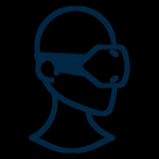 Virtual Reality Headset Stroke