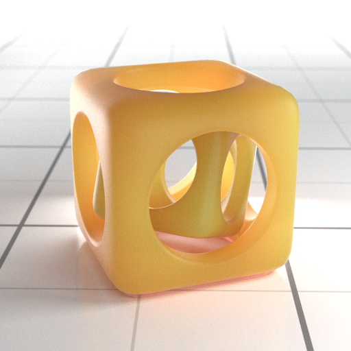 Subsurface Scattering Vraybrdf