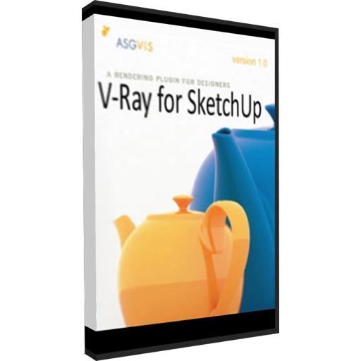 Vray For Sketchup Box Art