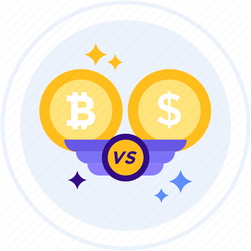 Bitcoin, Currency, Dollar, Exchange, Usd, Vs Icon