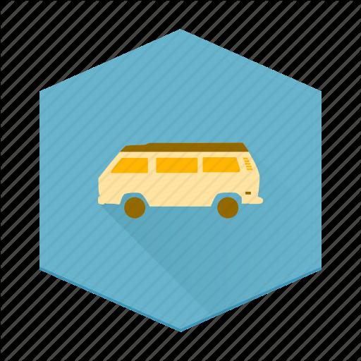 Adventure, Boards, Camping, Caravan, Individular, Van, Vw Icon