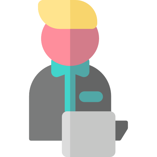 Waiter, Servant, Food And Restaurant Icon