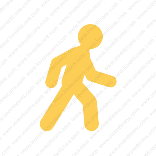 Download Transport,walk,flat Icon Inventicons