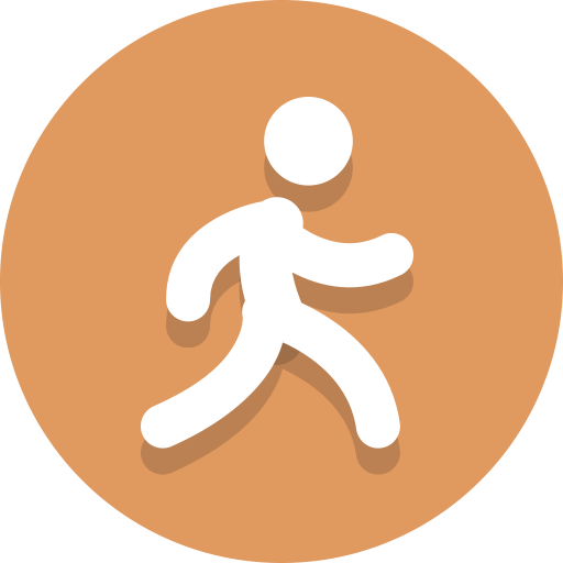 Person, Running, Walking Icon