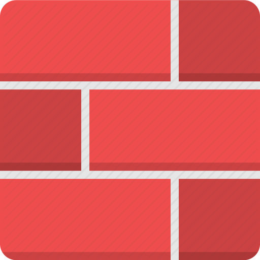 Bricks, Building Material, Construction, Exterior, Material, Wall Icon