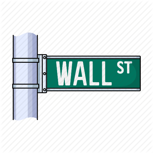 Arrow, Banner, Navigation, Pointer, Sign, Street, Wall Street Icon