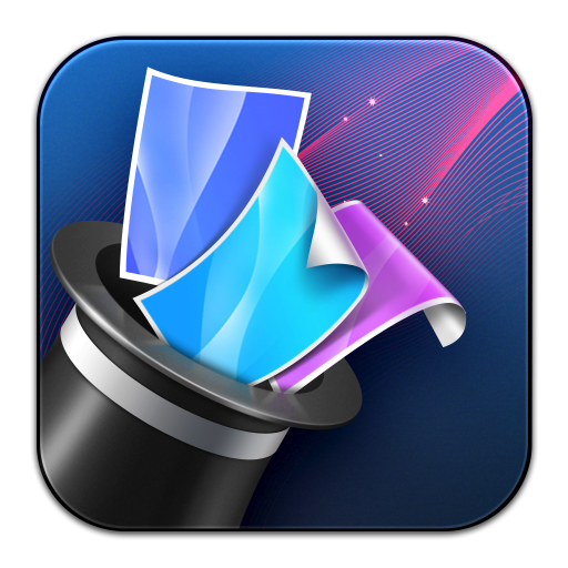 Wallpaper Wizard Icon Flurry Extras Iconset Iynque