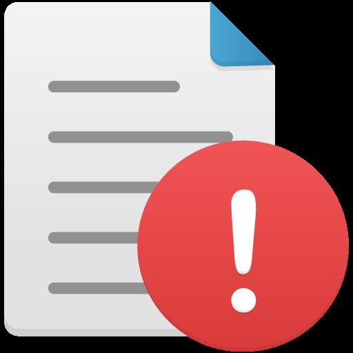 Warning Icon Flatastic Iconset Custom Icon Design