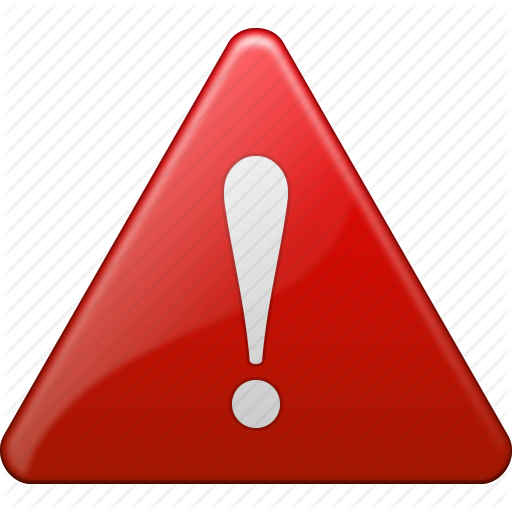 Alert, Attention, Danger, Exclamation, Safety, Warning Icon Icon