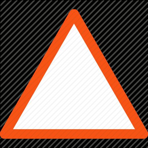 Alarm, Alert, Attention, Danger, Empty Triangle, Safety, Warning