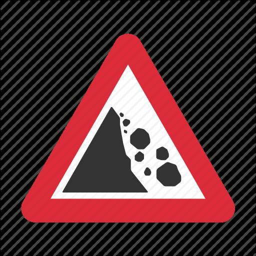 Danger, Fallen Rocks, Falling Rocks, Falling Rocks Ahead, Traffic