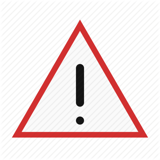 Exclamation, Sign Board, Warning Sign Icon