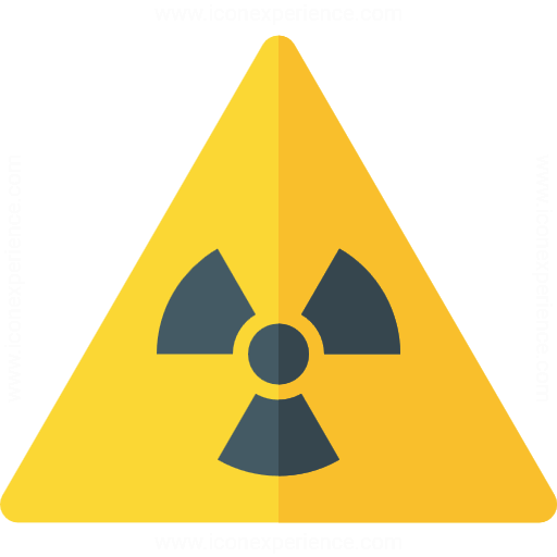 Iconexperience G Collection Sign Warning Radiation Icon