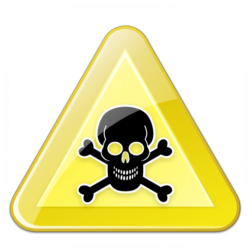 Iconexperience V Collection Sign Warning Toxic Icon