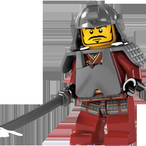 Chinese, Lego, Warrior Icon