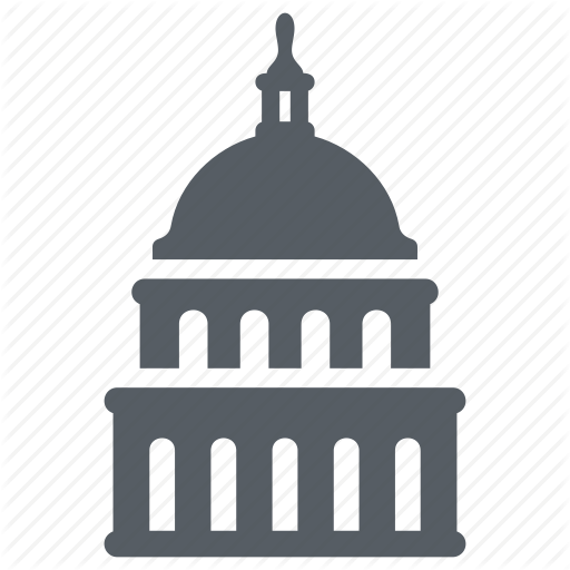 Capitol, Government, Landmark, Senate, Usa, Washington Icon