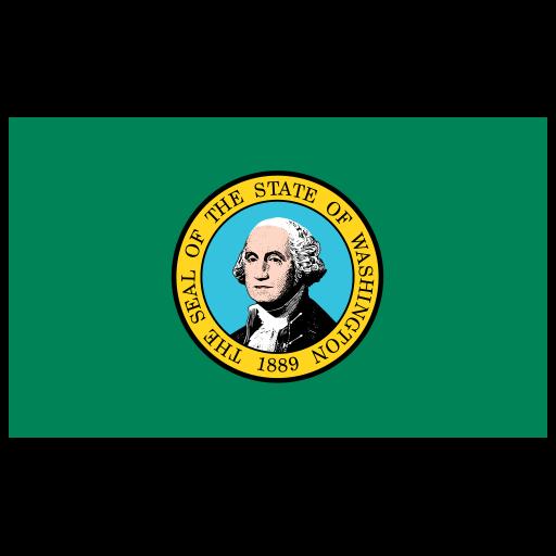 Us Wa Washington Flag Icon