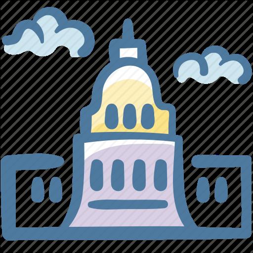 Building, United States, United States Capitol, Washington Icon