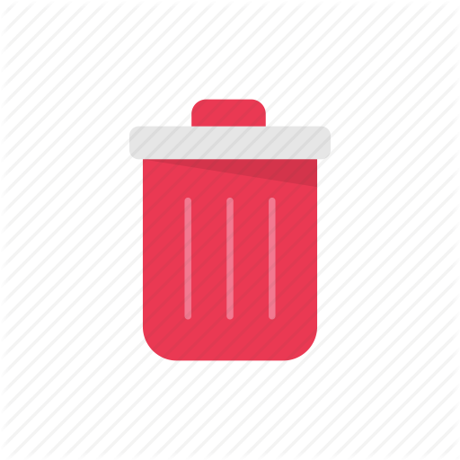 Bin, Delete, Trashcan, Waste Basket Icon