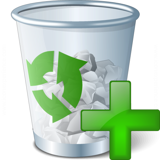 Iconexperience V Collection Garbage Add Icon