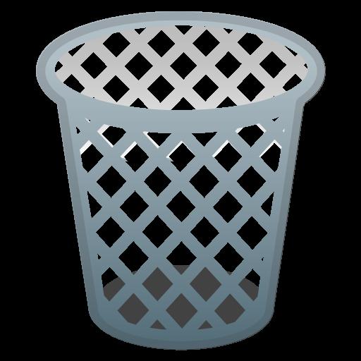 Wastebasket Icon Noto Emoji Objects Iconset Google