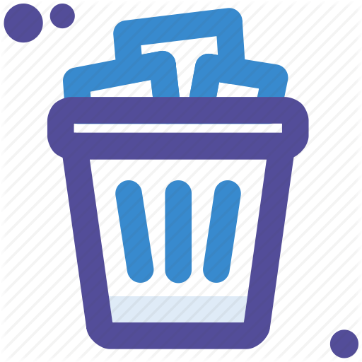 Bin, Garbage, Paper, Recycle, Trash, Waste Icon