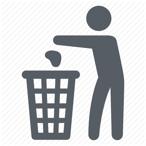 Bin, Garbage, People, Recycling, Trash, Waste Icon