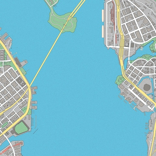 World Map San Francisco Bay, Watch Dogs Map