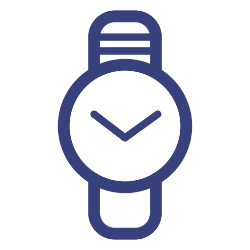 Circle Watch Stroke Icon