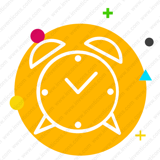 Download Clock,alarm,hour,minute,time,watch Icon Inventicons