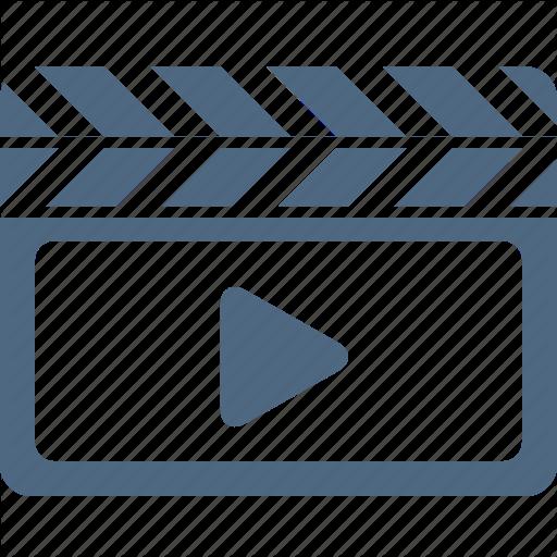 Camera, Clip, Film, Movie, Play, Video, Watch Icon