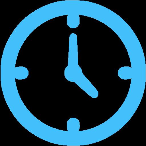 Caribbean Blue Watch Icon