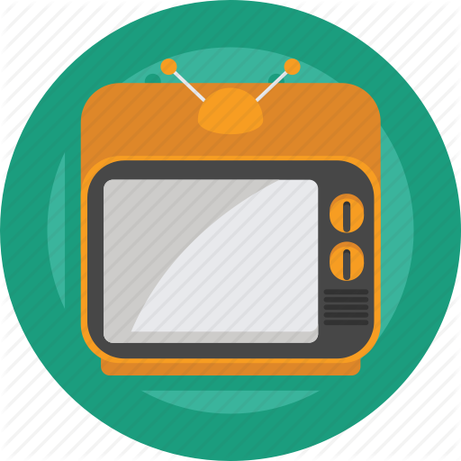 Film, Movie, Retro, Retro Tv, Television, Tv, Watch Icon
