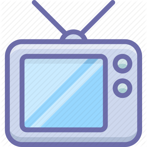 Television, Tv, Watch Icon