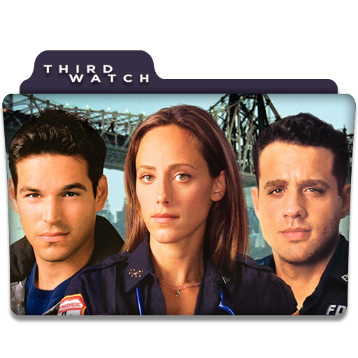 Third Watch Tv Series Folder Icon