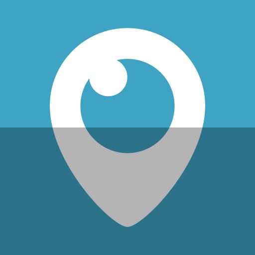 Watch, Logo, Tv, Social Network, Eye, Video, Periscope Icon